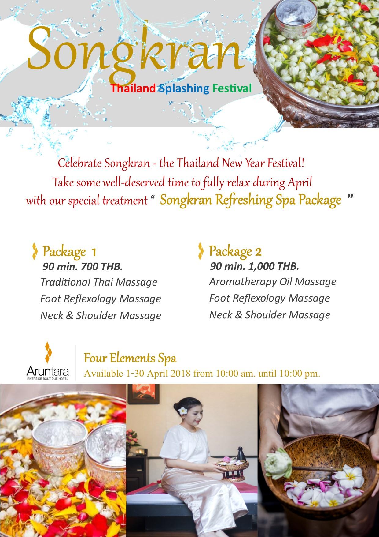 where to celebrate songkran 2018